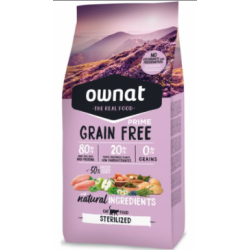OWNAT GRAIN FREE STÉRILIZED...